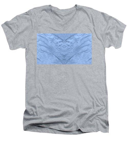 Seabed Men's V-Neck T-Shirt by Anton Kalinichev