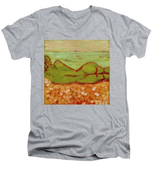 Seagirlscape Men's V-Neck T-Shirt