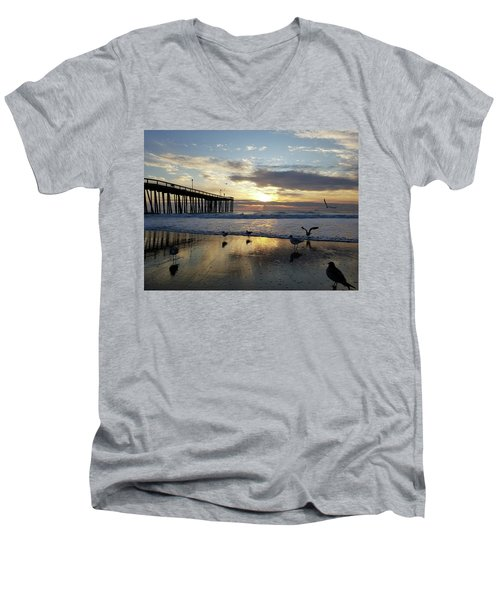 Seagulls And Salty Air Men's V-Neck T-Shirt