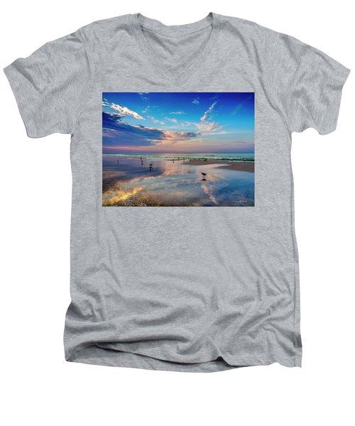 Seagulls..... Men's V-Neck T-Shirt