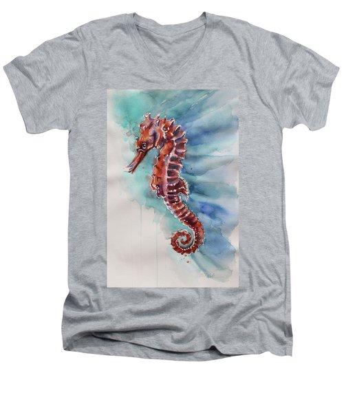 Seahorse 2 Men's V-Neck T-Shirt