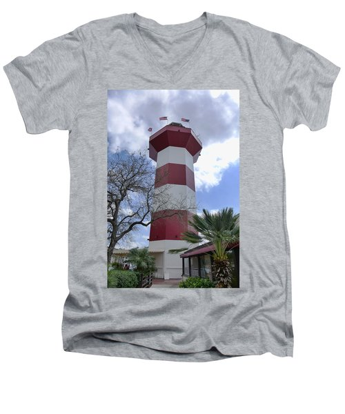 Seapines Lighthouse Men's V-Neck T-Shirt