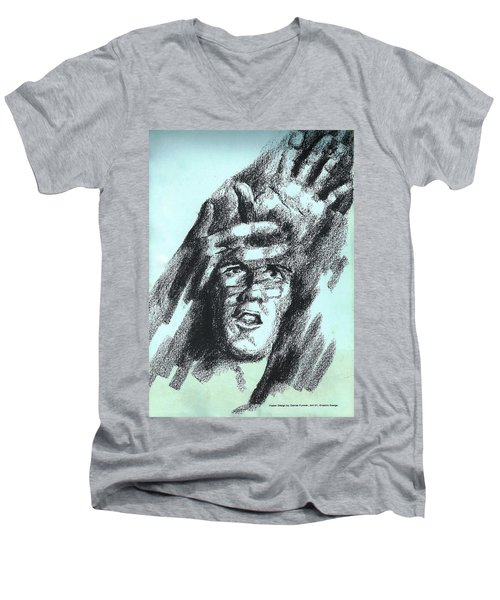 Search For Self Men's V-Neck T-Shirt
