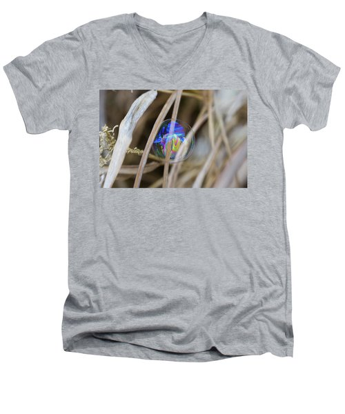 Searching For A New Rainbow Men's V-Neck T-Shirt