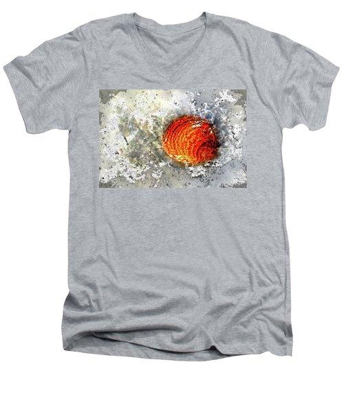 Seashell Art  Men's V-Neck T-Shirt