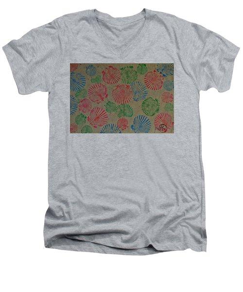 Seashells By The Seashore Men's V-Neck T-Shirt