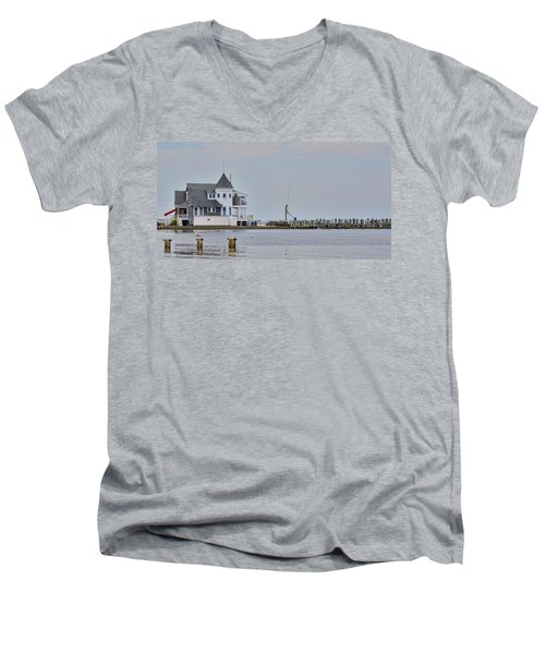 Seaside Park Yacht Club Men's V-Neck T-Shirt