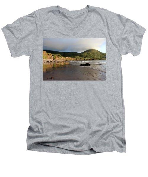 Seaside Reflections, County Kerry, Ireland Men's V-Neck T-Shirt