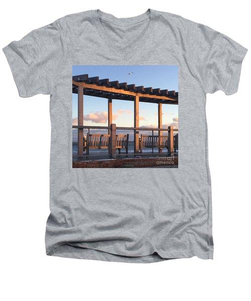 Seaside Seating  Men's V-Neck T-Shirt