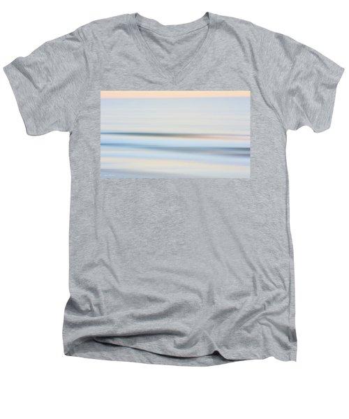 Seaside Waves  Men's V-Neck T-Shirt by Glenn Gemmell