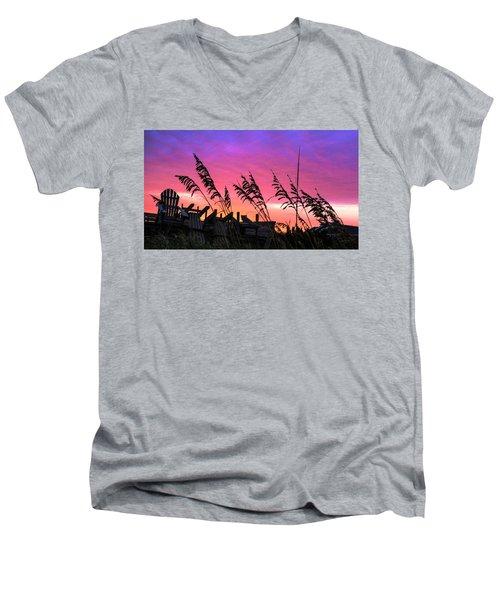 Seasons End II Men's V-Neck T-Shirt