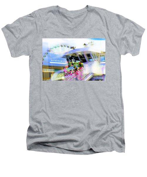 Seattle Washington 3 Men's V-Neck T-Shirt