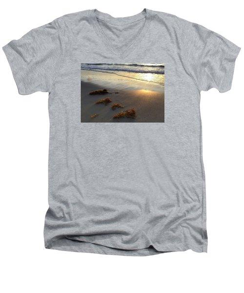 Seaweed Glow Men's V-Neck T-Shirt