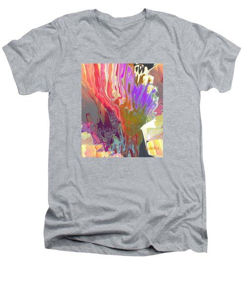 Seaweeds Men's V-Neck T-Shirt by Alika Kumar