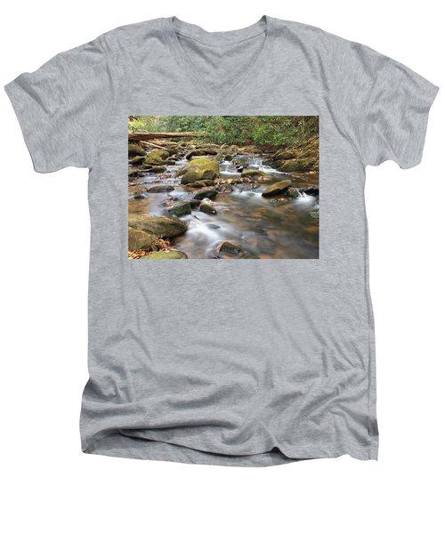 Secluded Men's V-Neck T-Shirt
