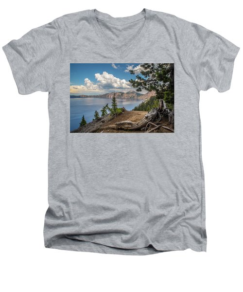 Second Crater View Men's V-Neck T-Shirt
