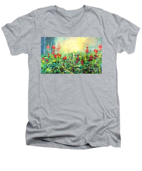 Secret Garden 2 - 150x90 Cm Men's V-Neck T-Shirt