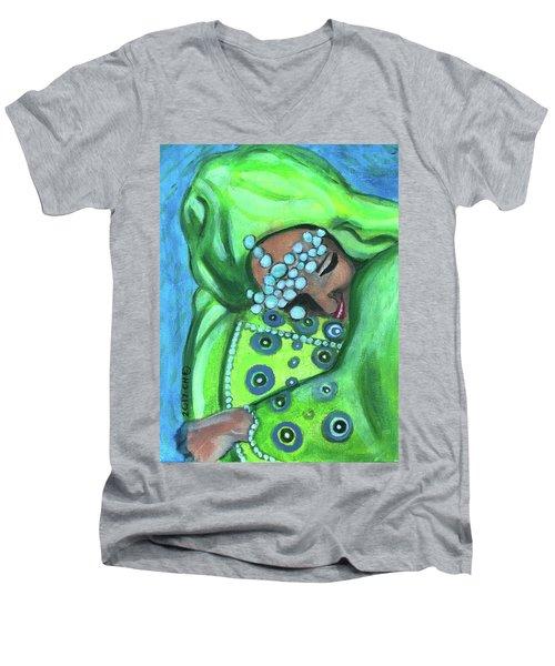Secret Joy Men's V-Neck T-Shirt