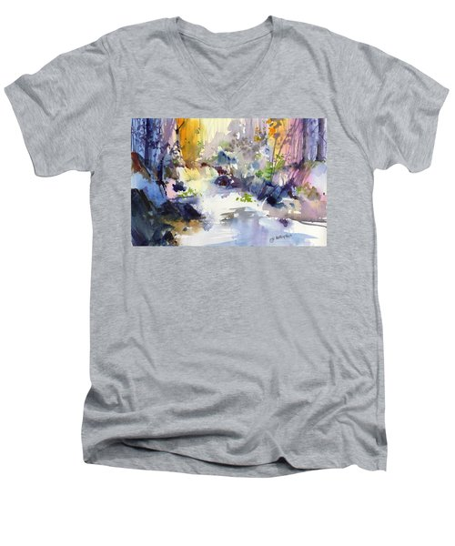 Secret Falls Men's V-Neck T-Shirt