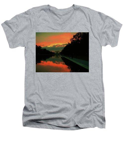 Secrets Of Dc Men's V-Neck T-Shirt