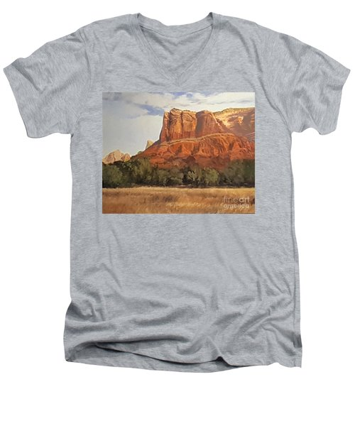 Sedona Afternoon In May Men's V-Neck T-Shirt