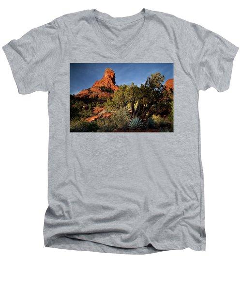 Sedona Desert Men's V-Neck T-Shirt