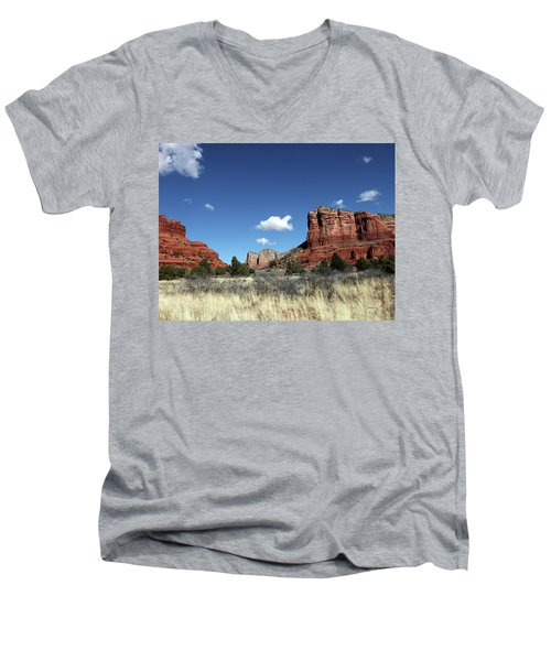 Sedona Desert Men's V-Neck T-Shirt