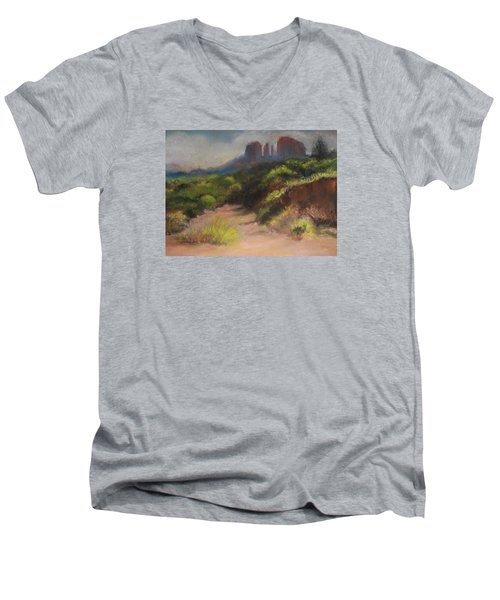 Sedona Pathway Men's V-Neck T-Shirt