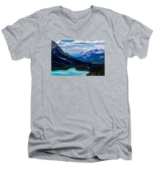 See Far Men's V-Neck T-Shirt