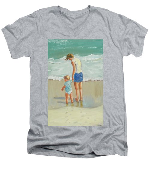 See The Sea Men's V-Neck T-Shirt