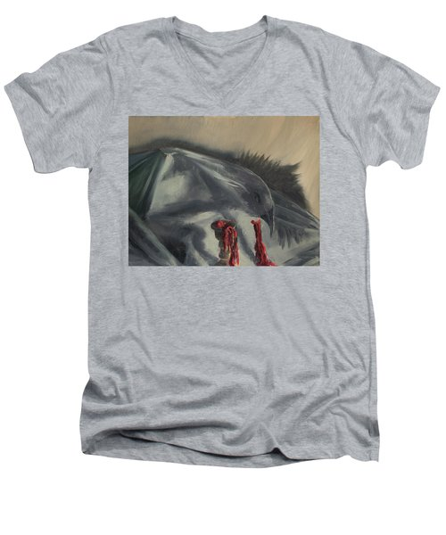 See You In The Shadows Men's V-Neck T-Shirt