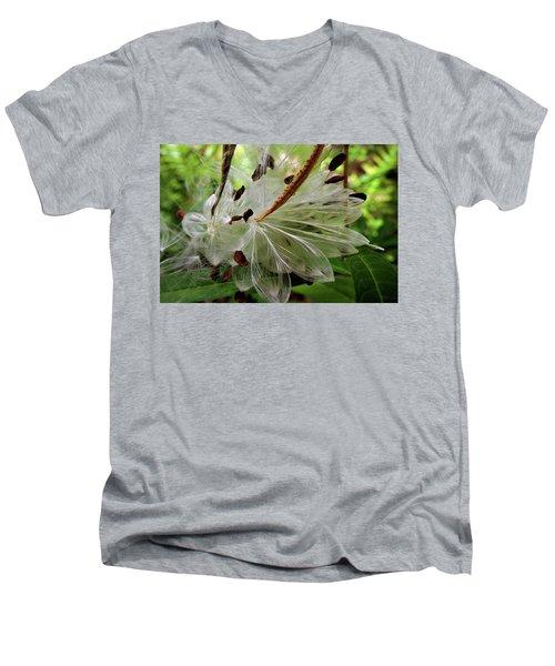 Seed Pods Men's V-Neck T-Shirt