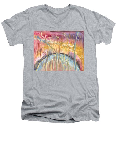 Seeds Of An Angel Men's V-Neck T-Shirt