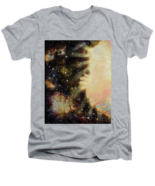 Seeing Beyond 2 Men's V-Neck T-Shirt