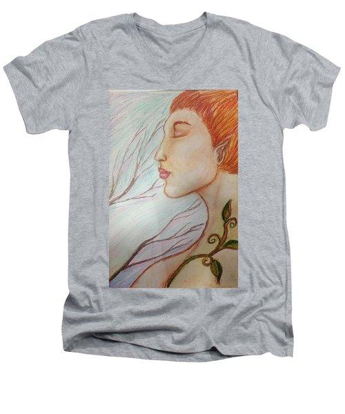 Seeking Ceris Men's V-Neck T-Shirt