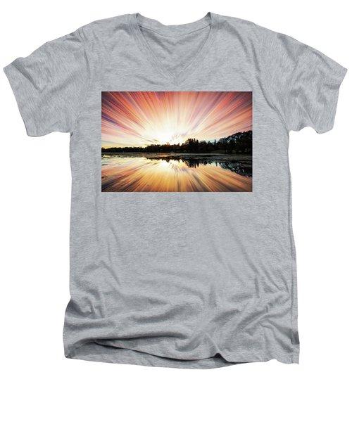 Seeleys Bay Explosion Men's V-Neck T-Shirt