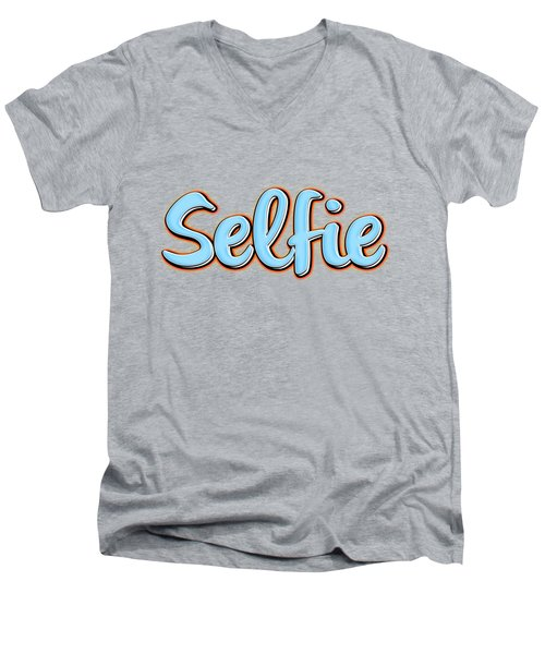 Selfie Tee Men's V-Neck T-Shirt