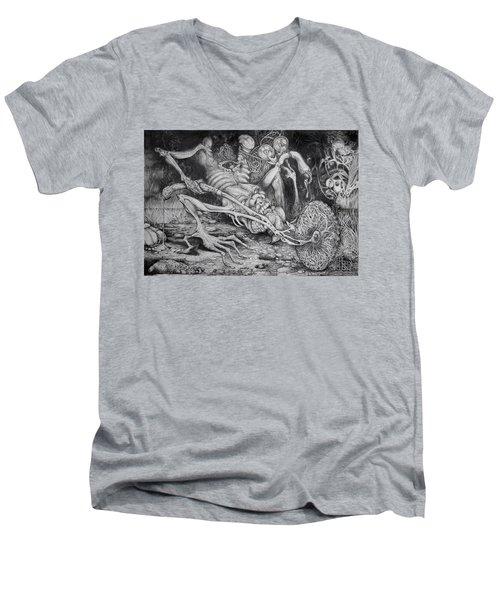 Selfpropelled Beastie Seeder Men's V-Neck T-Shirt