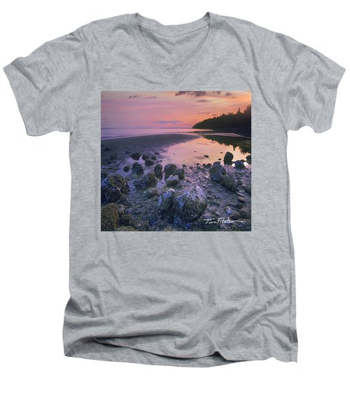 Semiahmoo Bay Men's V-Neck T-Shirt