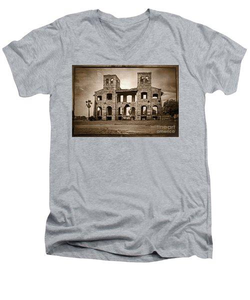 Seminary Ruins Men's V-Neck T-Shirt