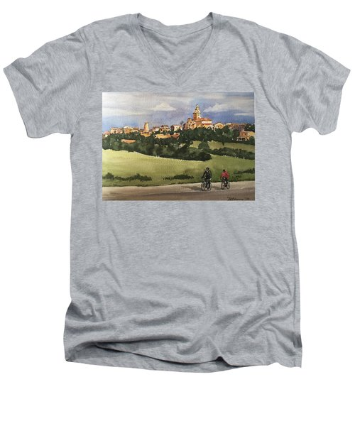 Sencelles, Mallorca Men's V-Neck T-Shirt