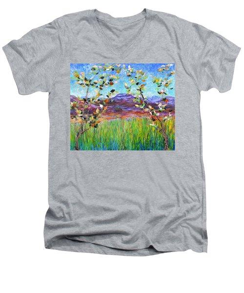 Sentries Diptych Men's V-Neck T-Shirt