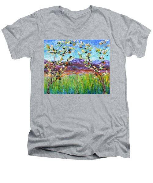 Sentries Diptych Men's V-Neck T-Shirt