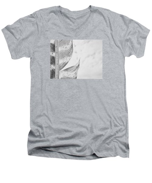 Seperated Men's V-Neck T-Shirt by Tim Good