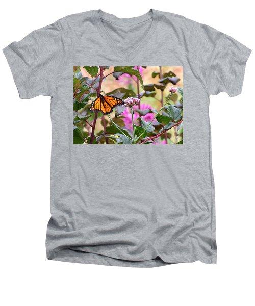 September Monarch Men's V-Neck T-Shirt