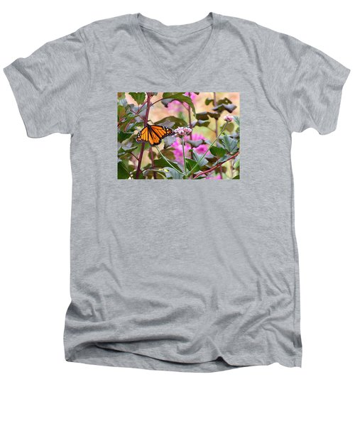 September Monarch Men's V-Neck T-Shirt