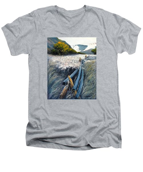 September Shadows Men's V-Neck T-Shirt