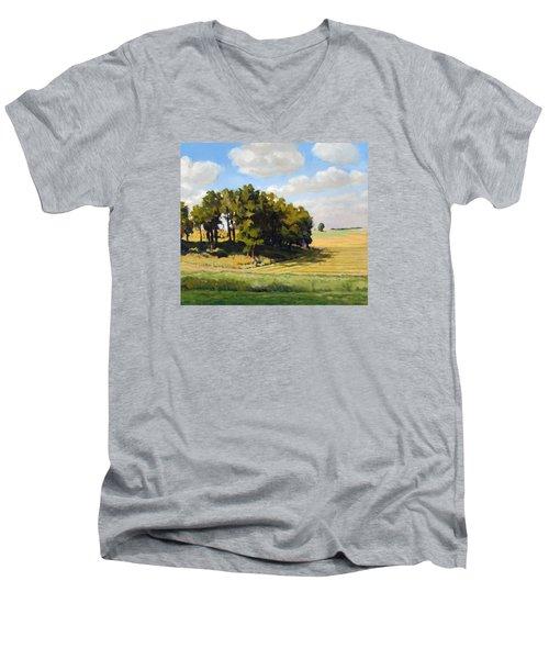 September Summer Men's V-Neck T-Shirt by Bruce Morrison