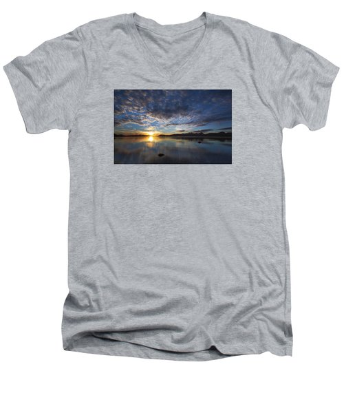September Sunset Men's V-Neck T-Shirt