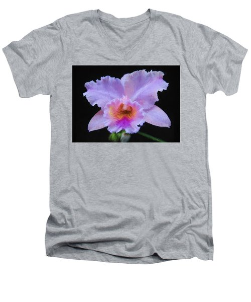 Serendipity Orchid Men's V-Neck T-Shirt